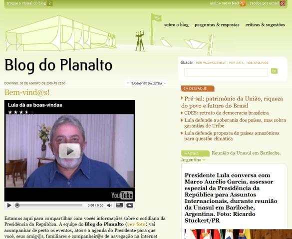 blog do planalto